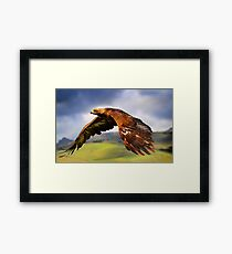 The King of the Mountains Framed Print