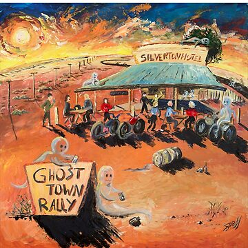 Ghost Town Rally - Silverton Outback NSW by Ochresands