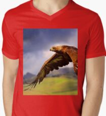 The King of the Mountains Men's V-Neck T-Shirt