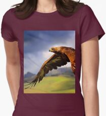 The King of the Mountains Women's Fitted T-Shirt