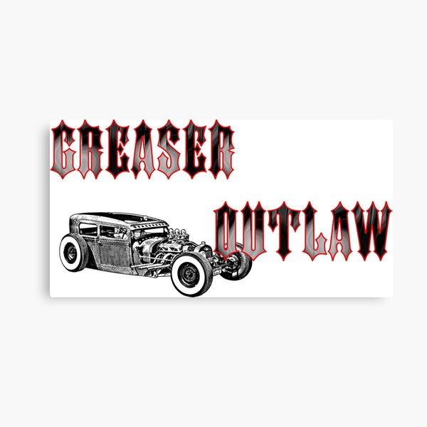 Outlaw Greaser Canvas Print