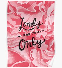 Lonely for you only Poster