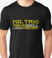 SNSD - Mr. Taxi Locations Unisex T-Shirt