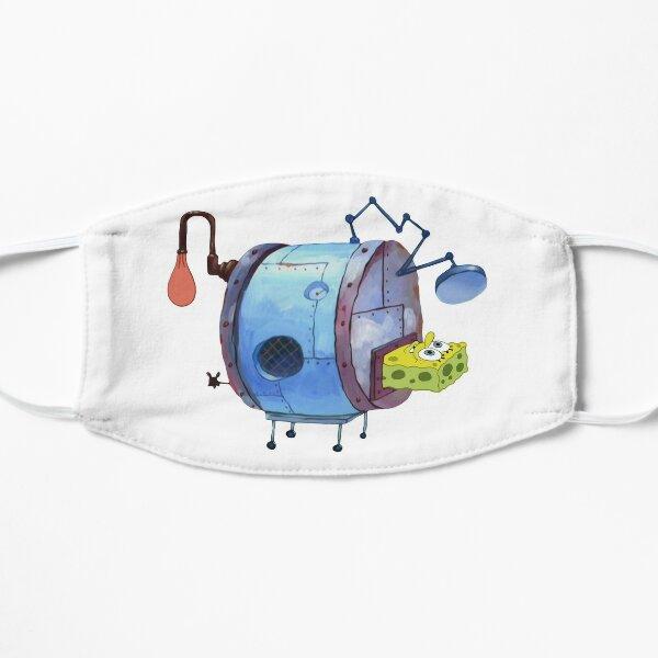 Spongebob in a Machine Mask