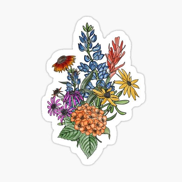 Wildflower Bundle  Sticker