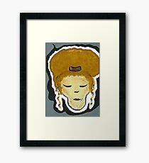 Thread Headz Series: Knowin Framed Print