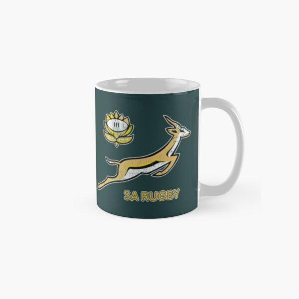 SA Rugby - Vintage Springbok logo Classic Mug