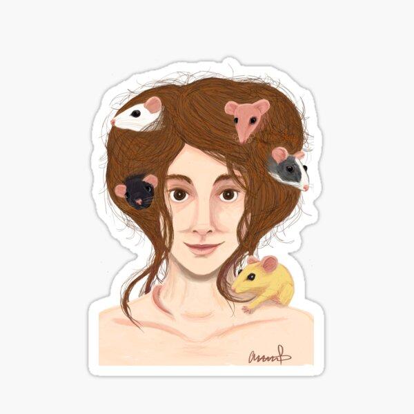 Rat's Nest Sticker