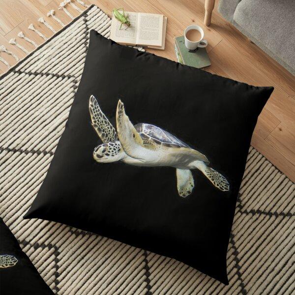 Marine Turtle Floor Pillow