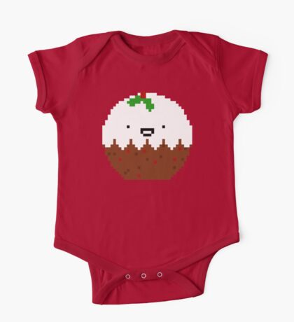 Cute Christmas Pixel Pud Kids Clothes