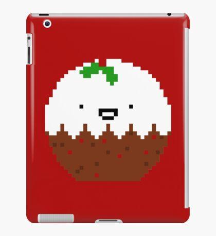 Cute Christmas Pixel Pud iPad Case/Skin