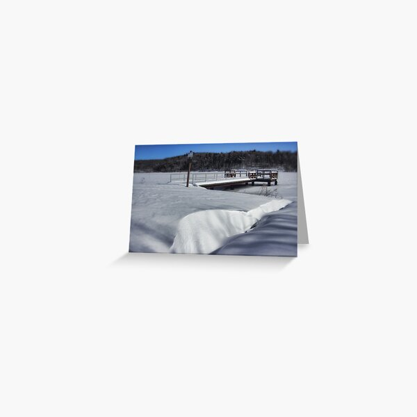 The Snow Drift Greeting Card