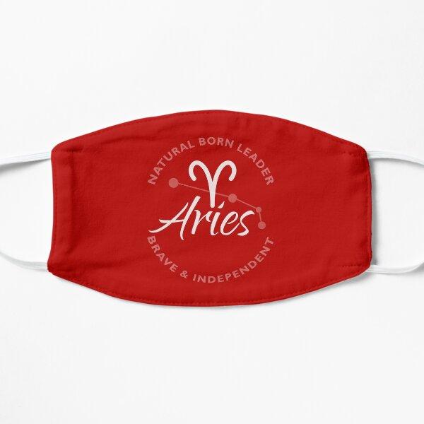 Aries Astrology Flat Mask
