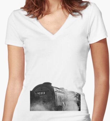Steamer 92212 Women's Fitted V-Neck T-Shirt