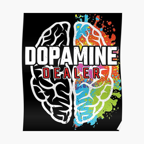 Dopamine Dealer - Fitness Coach - Gift for Personal Trainer Poster