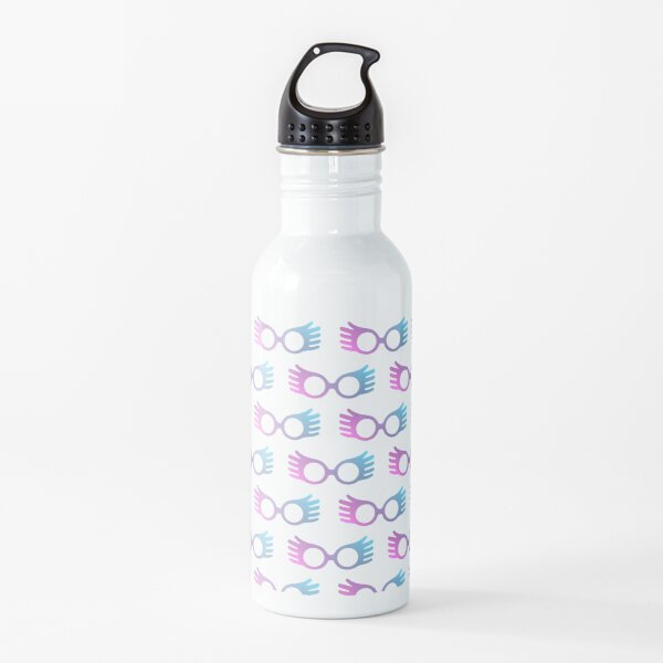 Luna Lovegood Glasses Pattern Water Bottle