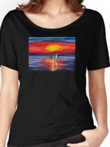 Sea  Women's Relaxed Fit T-Shirt