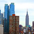 Cityscape Empire State Building by photographist