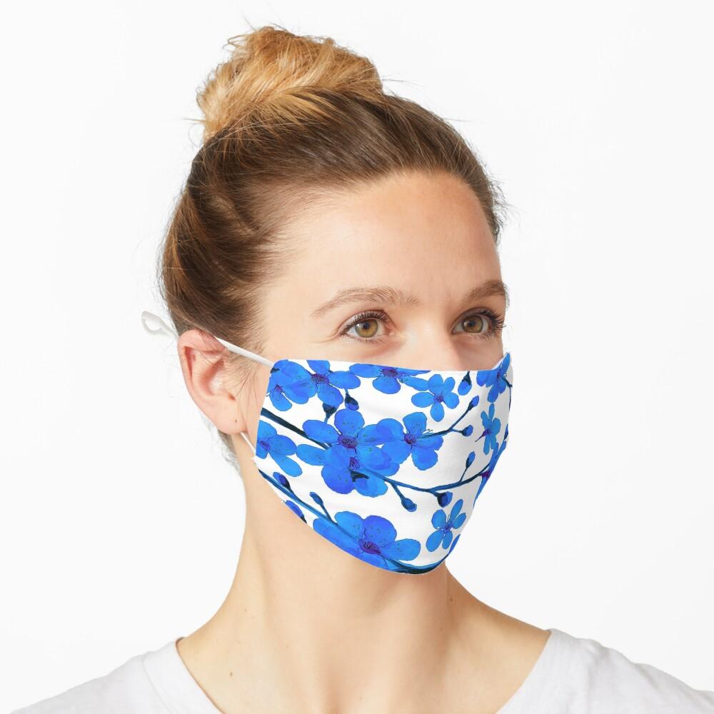 Cherry Blossom blue, Chinoiserie Mask