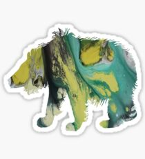 sloth bear  Sticker
