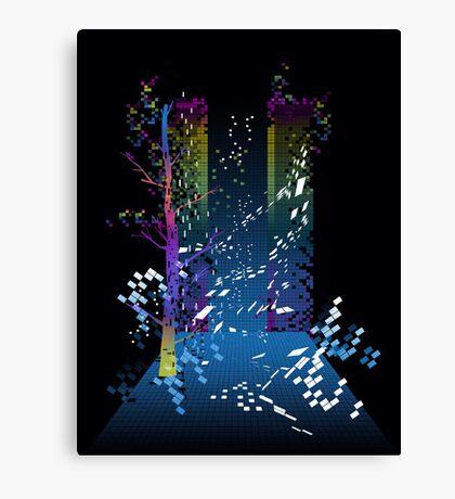 grid escape Canvas Print
