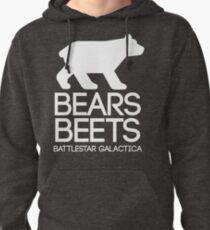 Bears. Beets. Battlestar Galactica. Pullover Hoodie