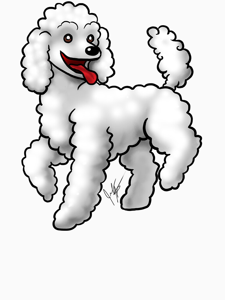 Poodle - White by jameson9101322
