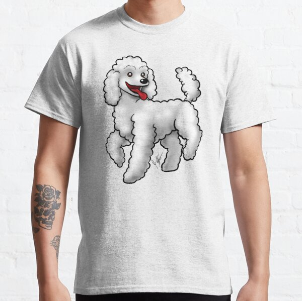 Poodle - White Classic T-Shirt