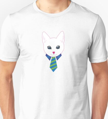 Cat in a tie T-Shirt
