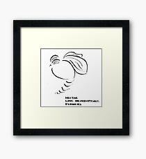 Haiga XV  Framed Print
