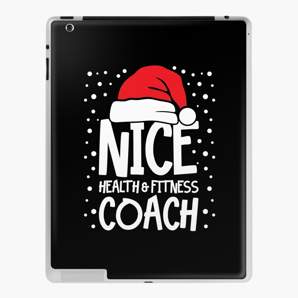 Nice Fitness Coach - Personal Trainer Christmas Gift iPad Case & Skin