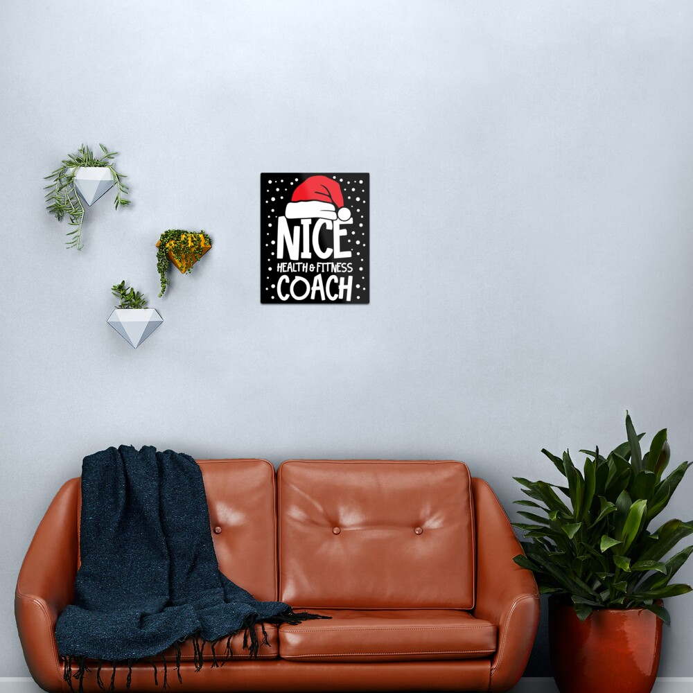 Nice Fitness Coach - Personal Trainer Christmas Gift Metal Print
