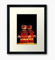 Zombrick Framed Print