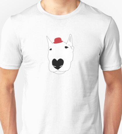 Dog in a bowler hat T-Shirt