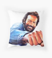 Bud Spencer Throw Pillow
