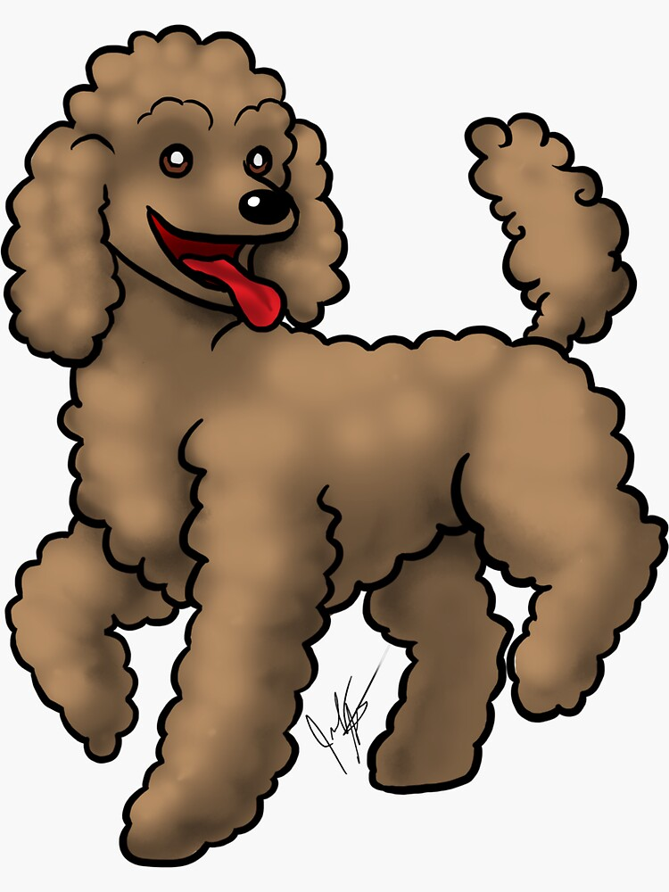 Poodle -  Apricot by jameson9101322