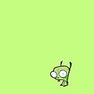 GIR iPod /iPhone cover design 2 by Matthew James