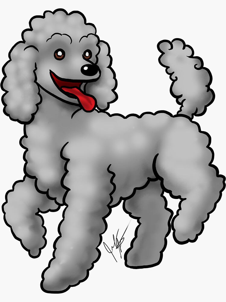 Poodle - Gray by jameson9101322