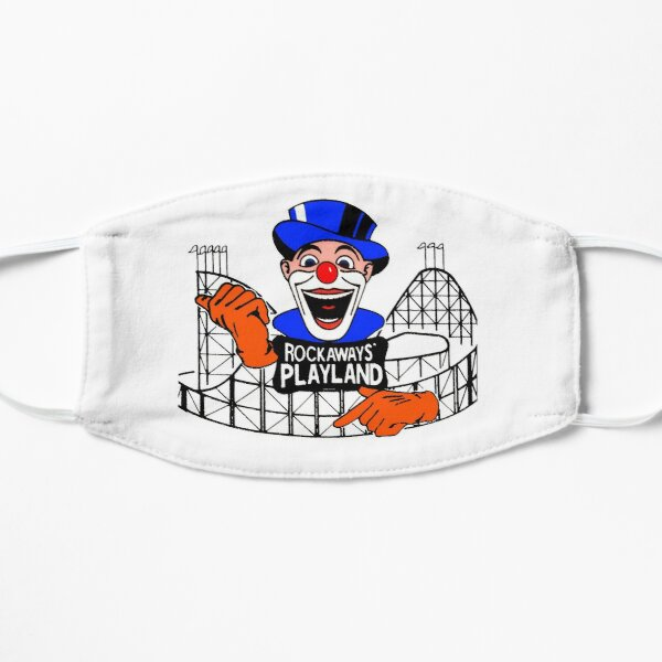 ROCKAWAY'S PLAYLAND Flat Mask