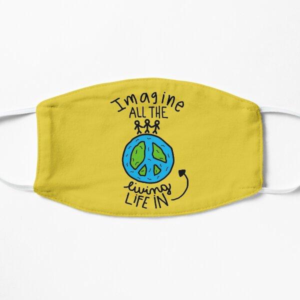 John Lennon Flat Mask