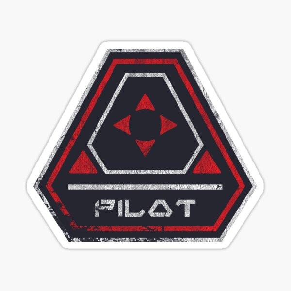 Smuggler's Pilot Sticker