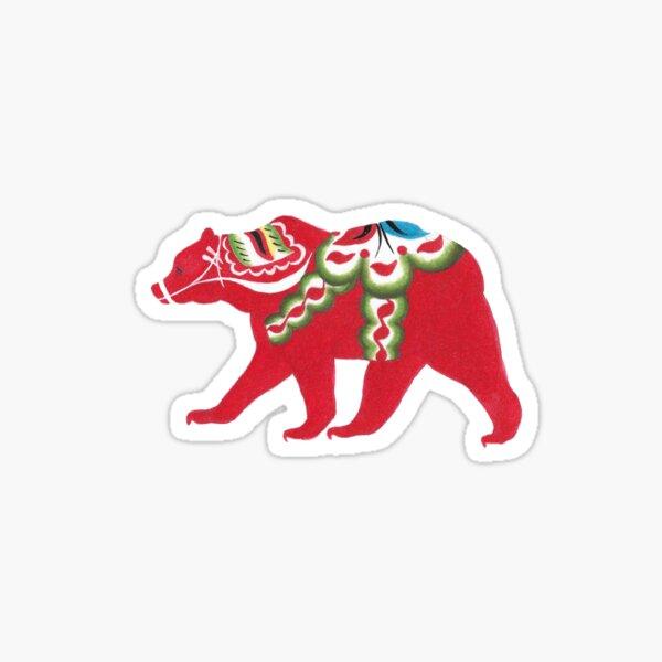 Dala bear Sticker