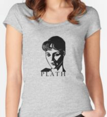 Sylvia Plath Women's Fitted Scoop T-Shirt