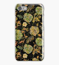 Pastel Tones Vintage Floral Design iPhone Case/Skin