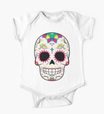 Sugar Skull CMYK ~ Sticker One Piece - Short Sleeve