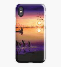 Menindee Sunset iPhone Case/Skin