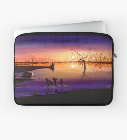 Menindee Sunset Laptop Sleeve
