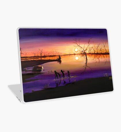 Menindee Sunset Laptop Skin