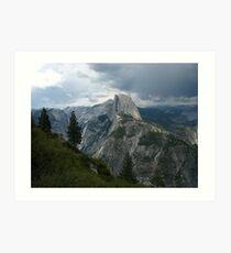A Threshold, Glacier Point, Yosemite National Park, CA 2012 Art Print