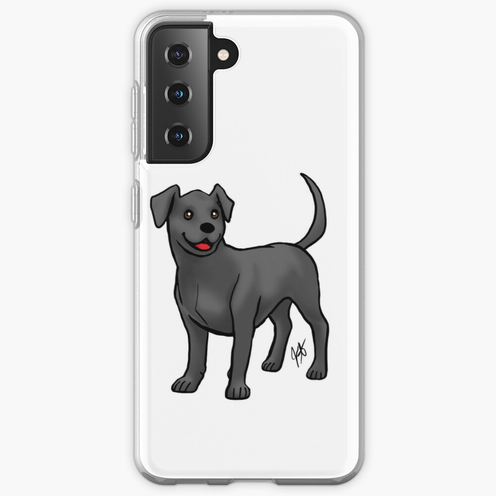 Labrador Retriever - Black Case & Skin for Samsung Galaxy